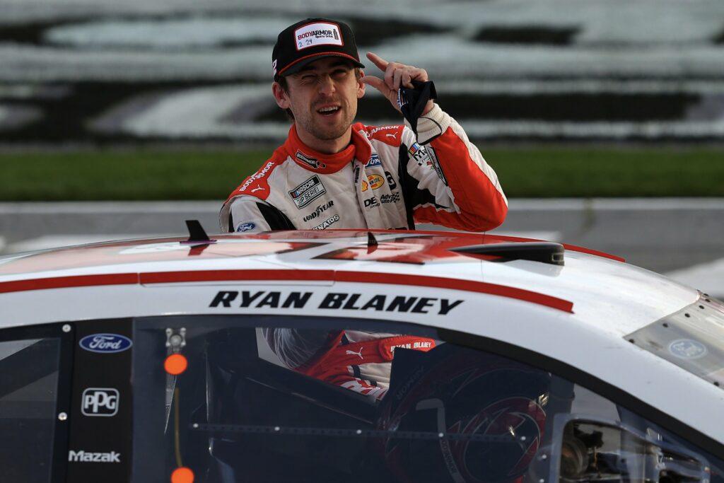 ATLANTA; NASCAR; RYAN BLANEY; PENSKE;