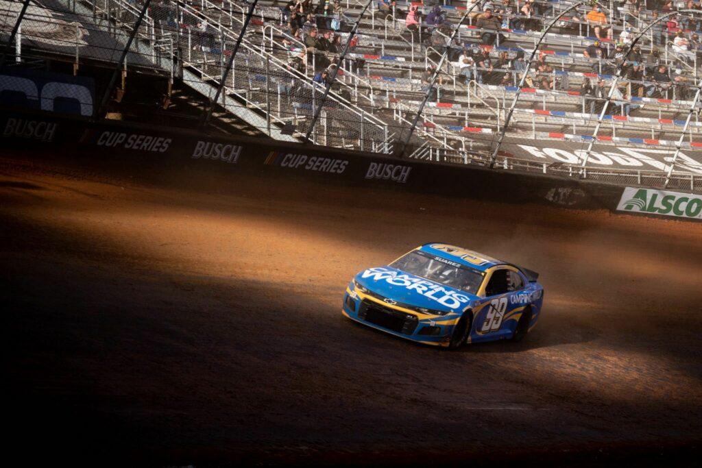 DANIEL SUÁREZ; NASCAR; BRISTOL;
