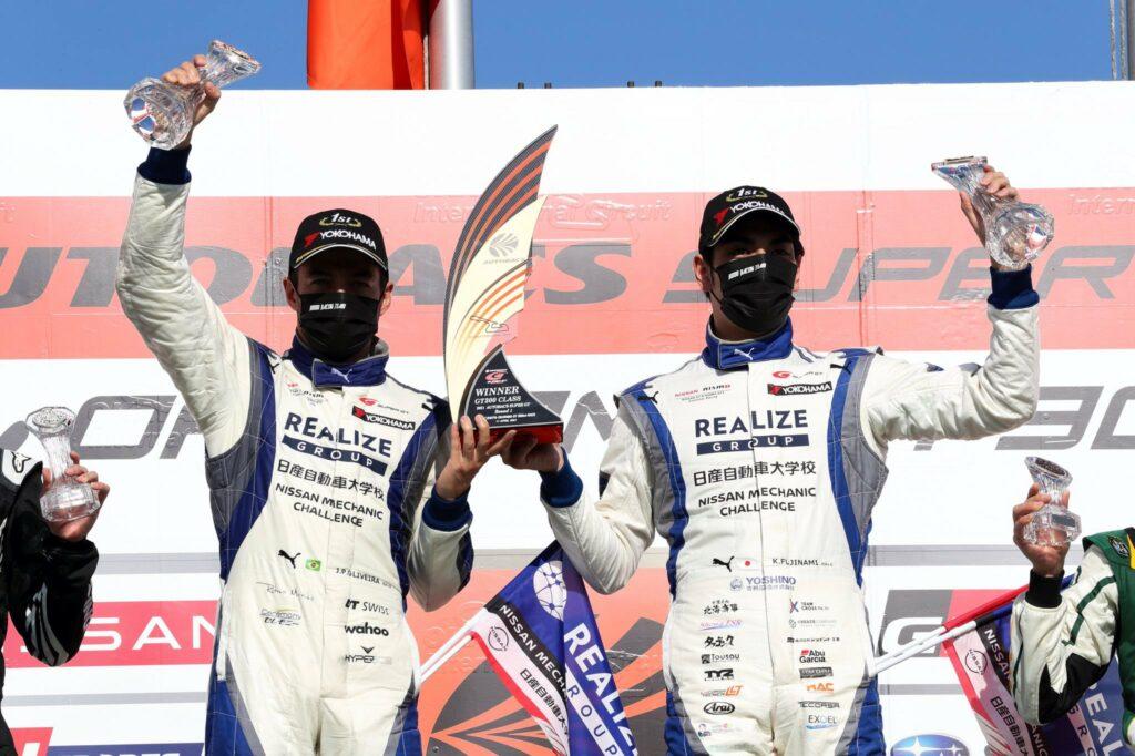 JOÃO PAULO DE OLIVEIRA; JP OLIVEIRA; KIYOTO FUJINAMI; SUPER GT; GT300; NISSAN;