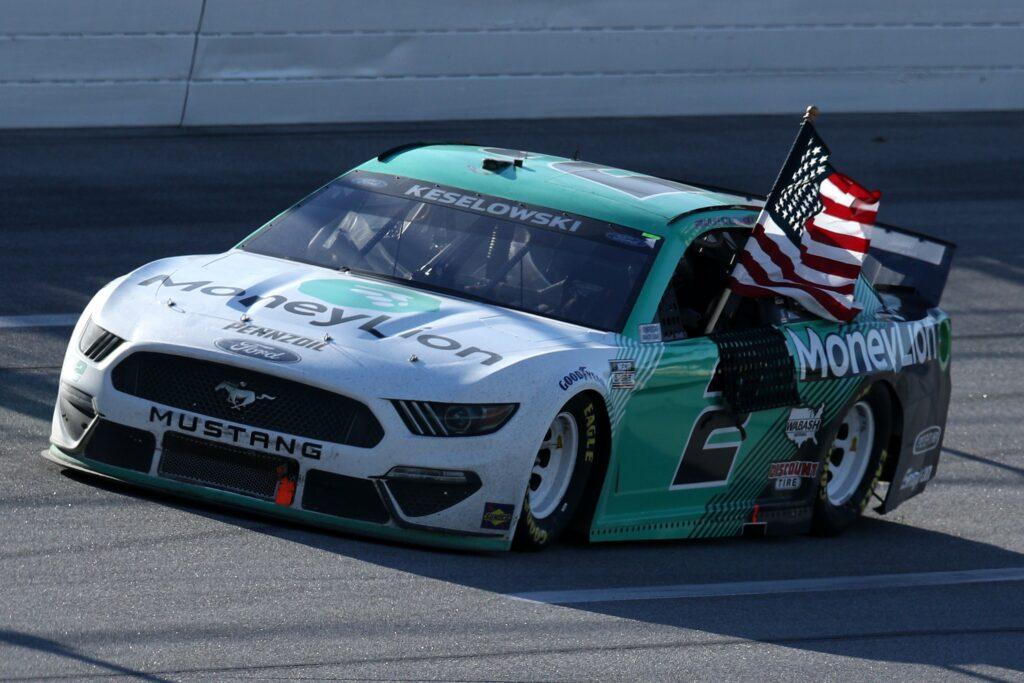 BRAD KESELOWSKI; TALLADEGA; NASCAR; 2021;