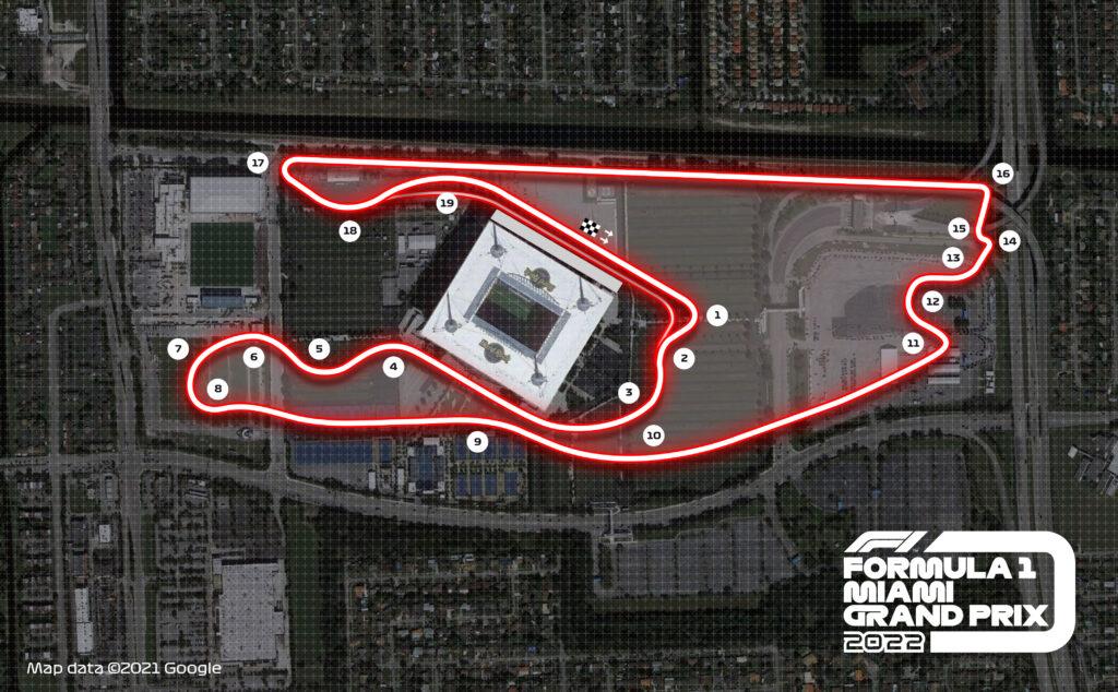 CIRCUITO; MIAMI; MIAMI GARDENS; 2022; F1; GP DE MIAMI; GP DE MIAMI DE F1;