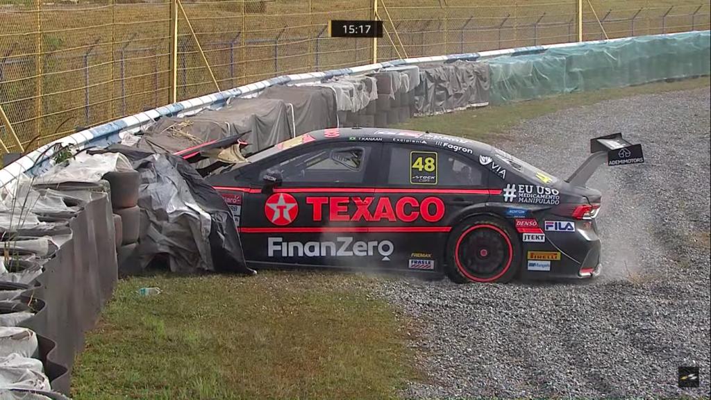 Tony Kanaan, acidente, batida, Goiânia, Stock Car