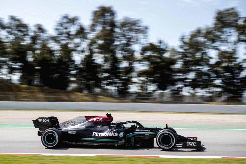 LEWIS HAMILTON; MERCEDES; F1; GP DA ESPANHA; TREINO LIVRE 1;