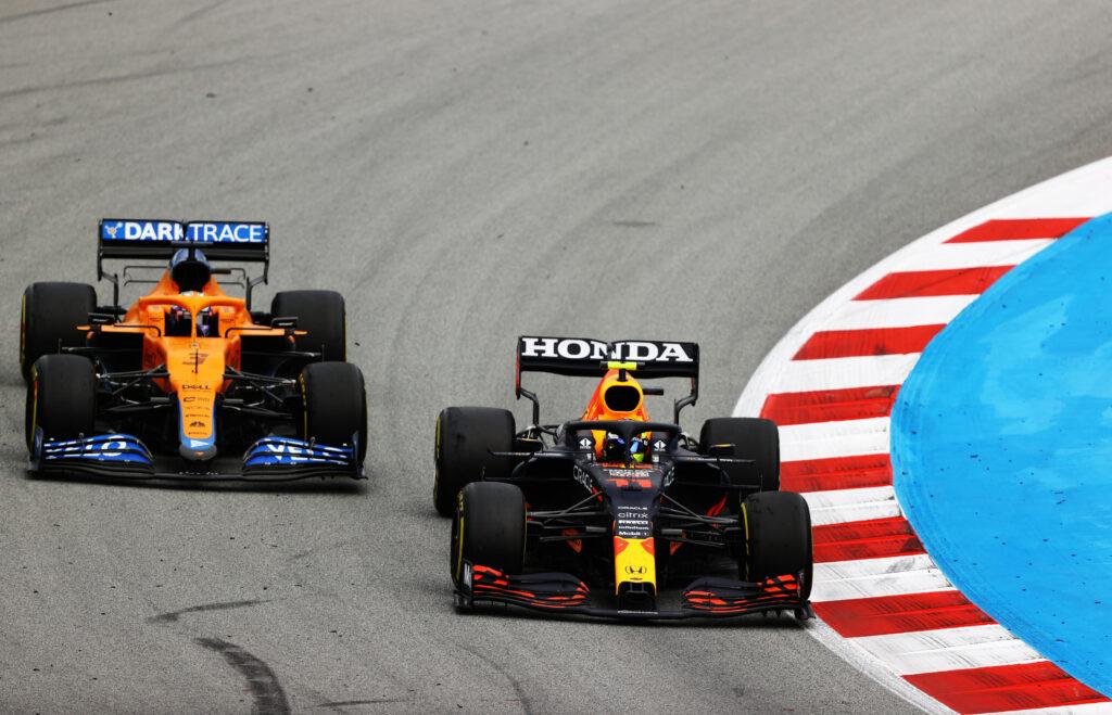SERGIO PÉREZ; DANIEL RICCIARDO; RED BULL; GP DA ESPANHA; F1;