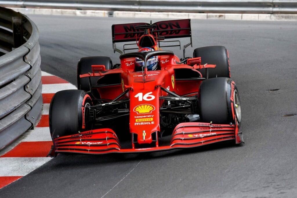 F1 2021, GP DE MÔNACO, QUINTA-FEIRA, FERRARI, CHARLES LECLERC