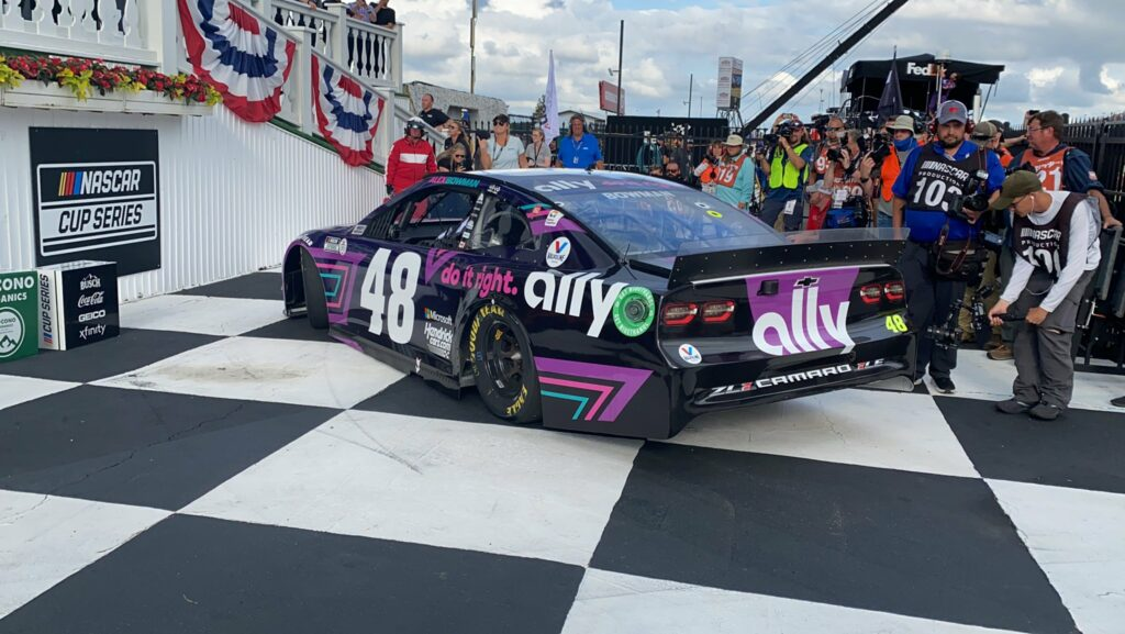 ALEX BOWMAN; NASCAR; POCONO;