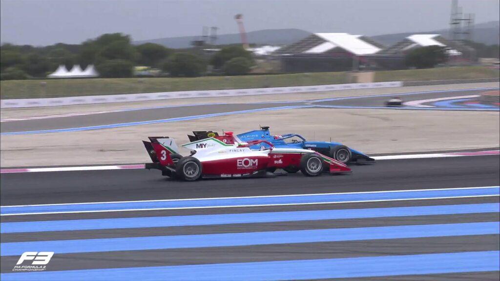 Victor Martins, F3, GP da França,