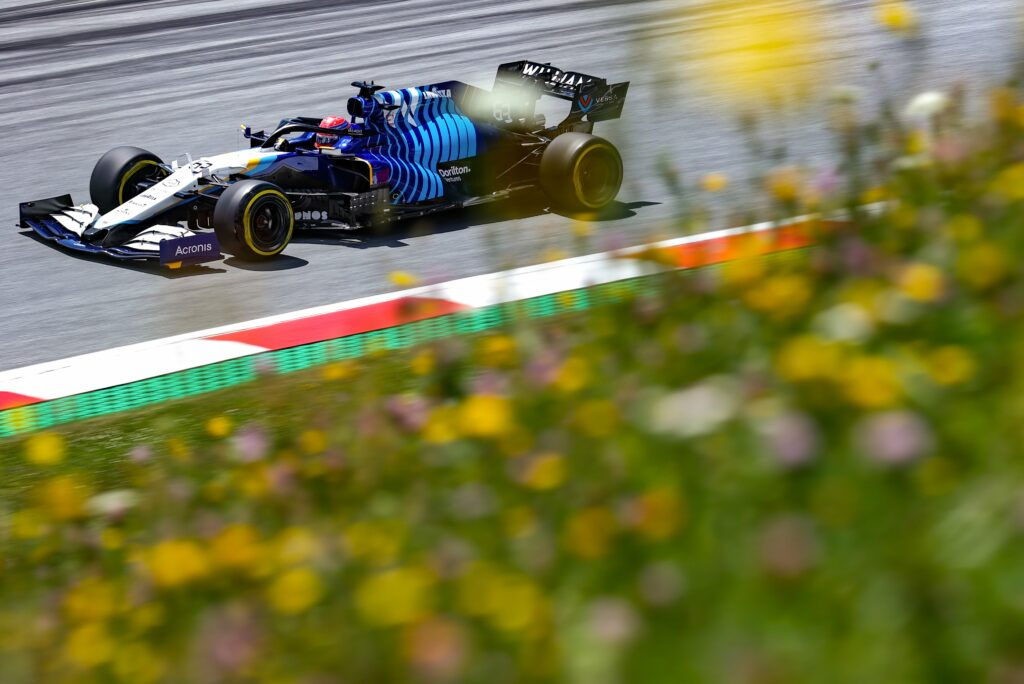 GEORGE RUSSELL; WILLIAMS; RED BULL RING;