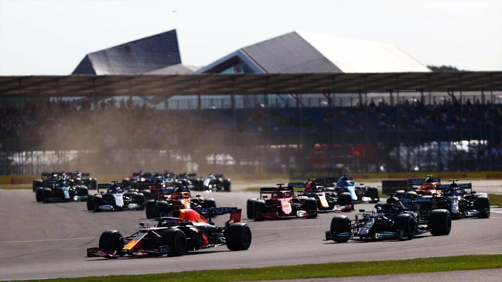 LARGADA; MAX VERSTAPPEN; LEWIS HAMILTON; F1 SPRINT; SPRINT; F1;