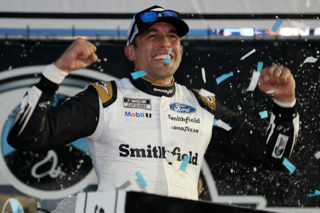 ARIC ALMIROLA; NASCAR; NEW HAMPSHIRE;