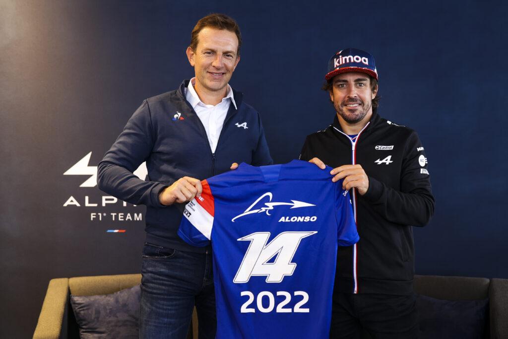 FERNANDO ALONSO; ALPINE; 2022;