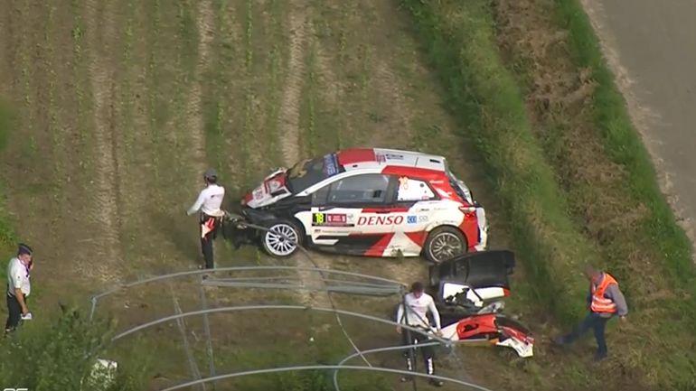TAKAMOTO KATSUTA; WRC; RALI DA BÉLGICA;