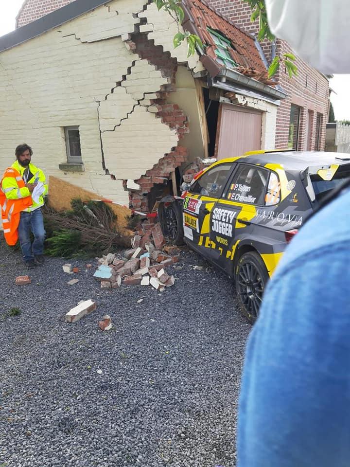 PIETER TSJOEN; EDDY CHEVAILLIER; WRC; RALI DA BÉLGICA;