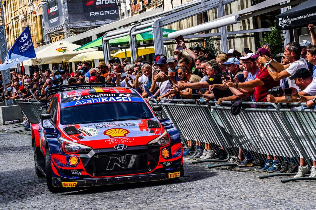 THIERRY NEUVILLE; HYUNDAI; RALI DA BÉLGICA; WRC; MUNDIAL DE RALI;