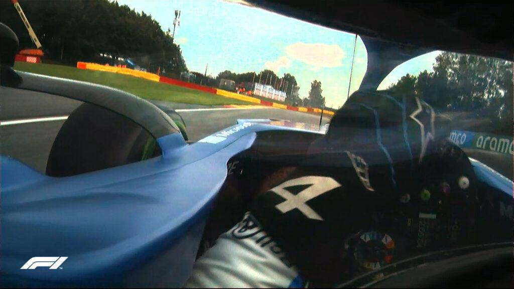 Fernando Alonso;  CÂMERA ALONSO;  a bordo;