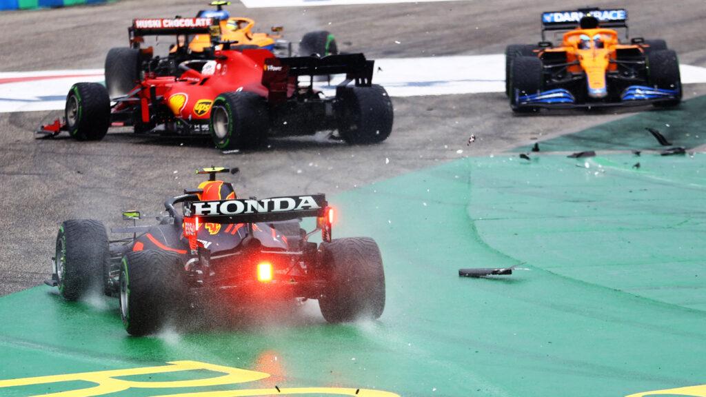 SERGIO PÉREZ; GP DA HUNGRIA; F1;