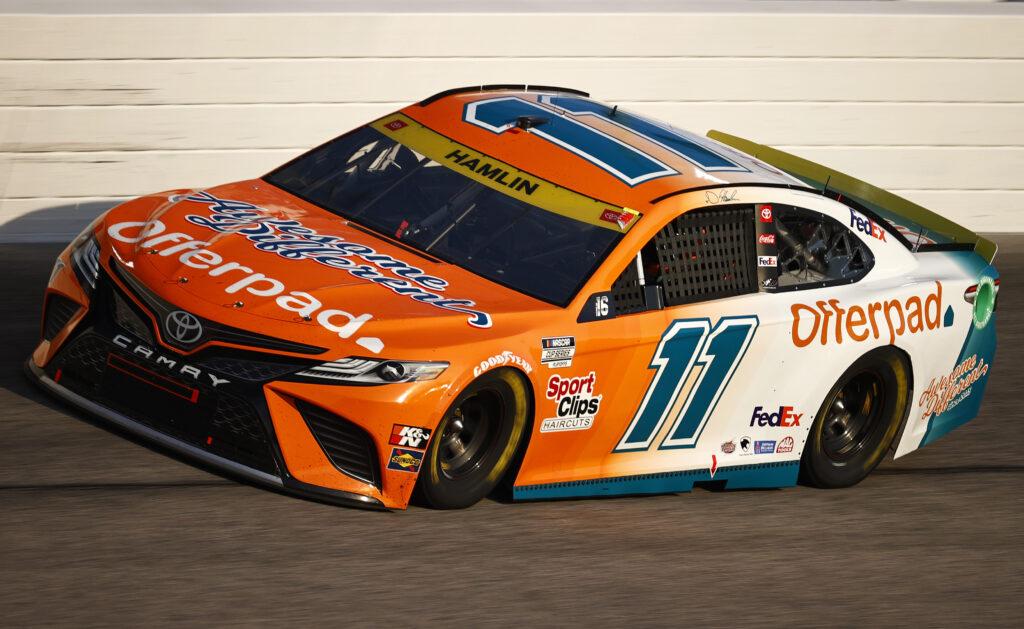 DENNY HAMLIN; NASCAR; DARLINGTON;
