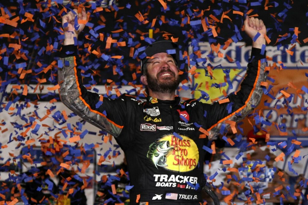 MARTIN TRUEX JR; NASCAR; RICHMOND;