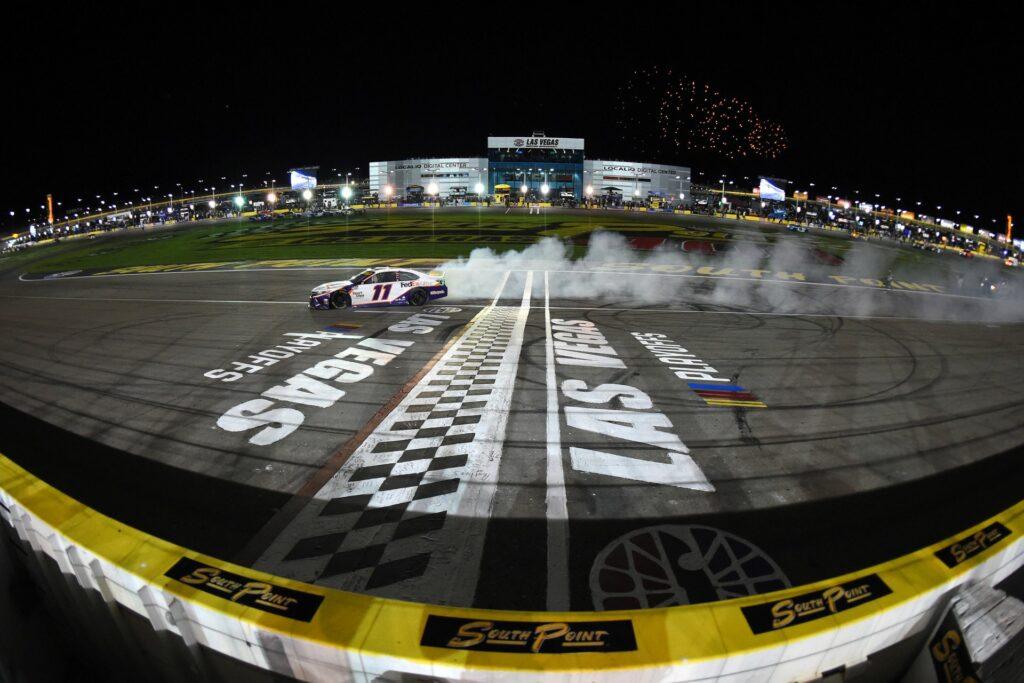 DENNY HAMLIN; LAS VEGAS; NASCAR;
